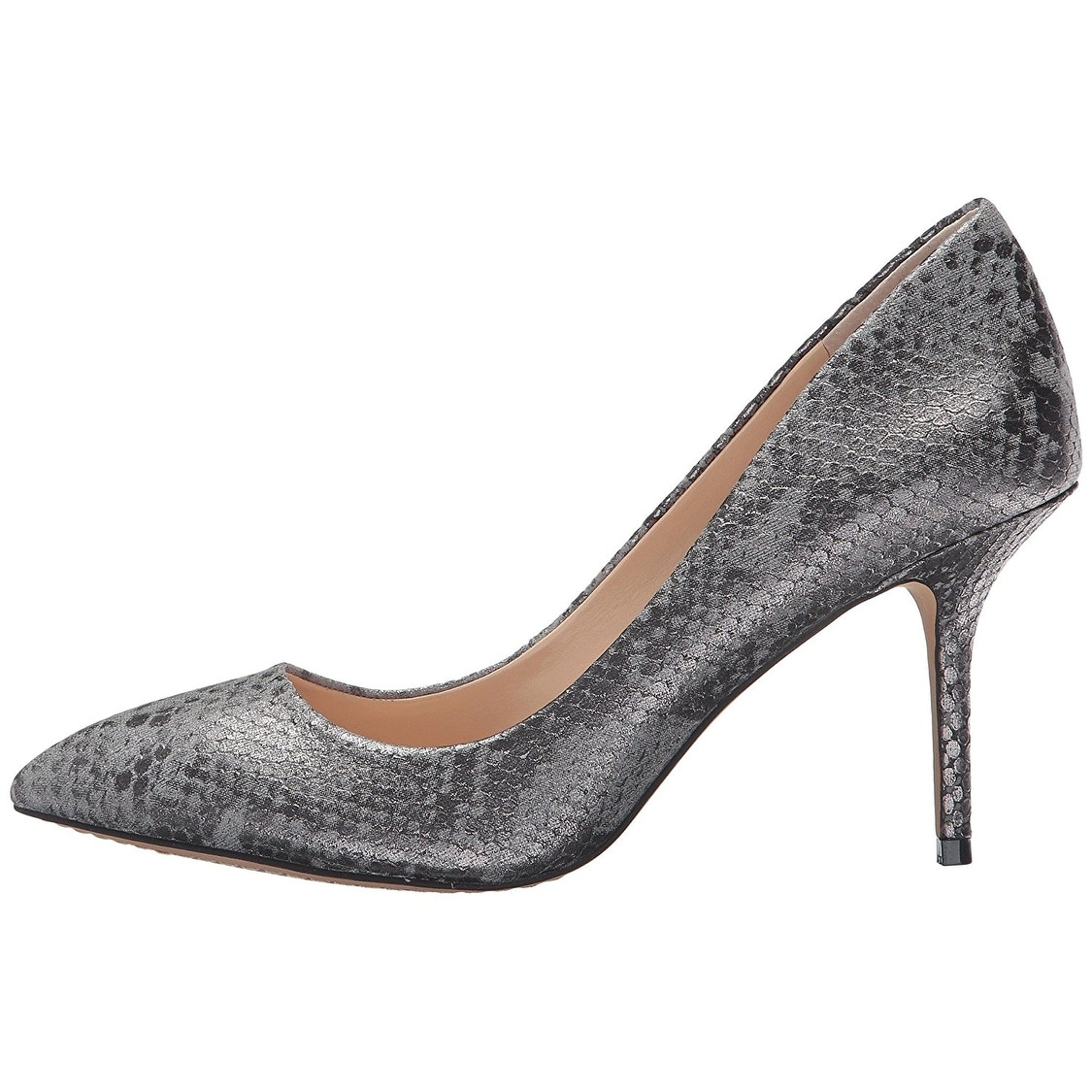Vince Camuto Womens Salest Pointed Toe Classic Pumps Silver Size 9.5