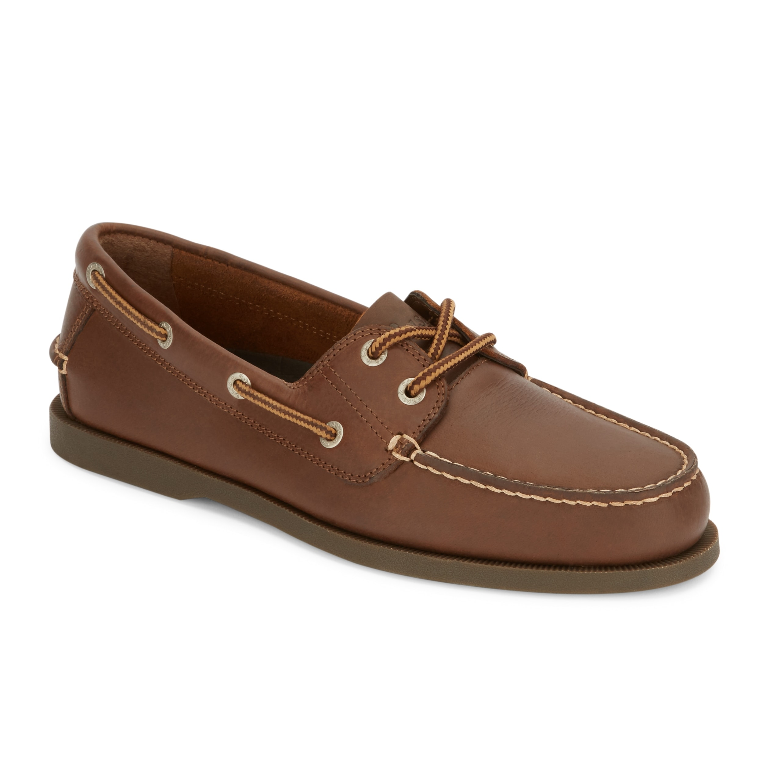 351b29bf4c6 Shop G.H. Bass   Co. Mens Asbury Classic Leather Boat Shoe - On Sale ...