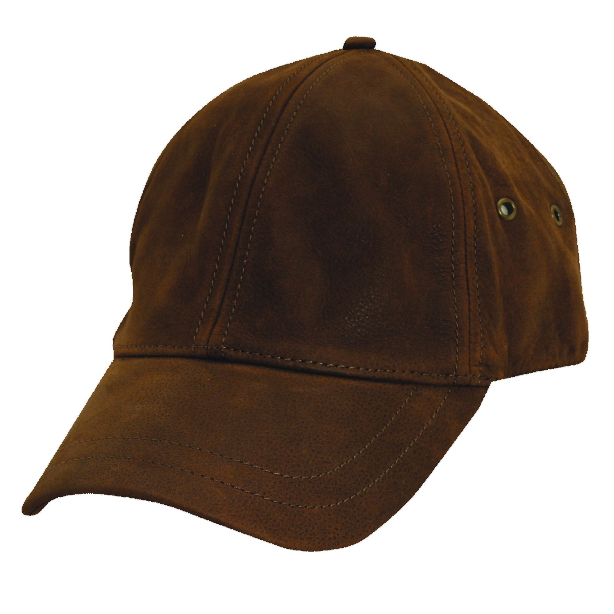 c37a497687c Shop Stetson Men s Antiqued Leather Oily Timber Baseball Cap - Free ...