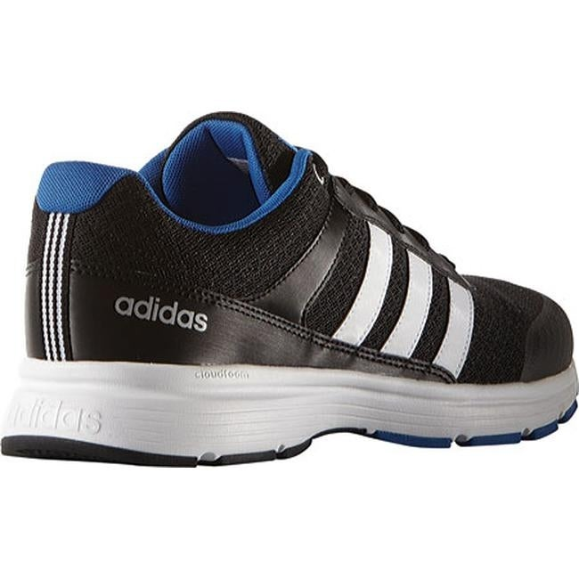 buy online ab28b eb61f Shop adidas Men s NEO Cloudfoam VS City Sneaker Black White Blue - Free  Shipping Today - Overstock - 12422402