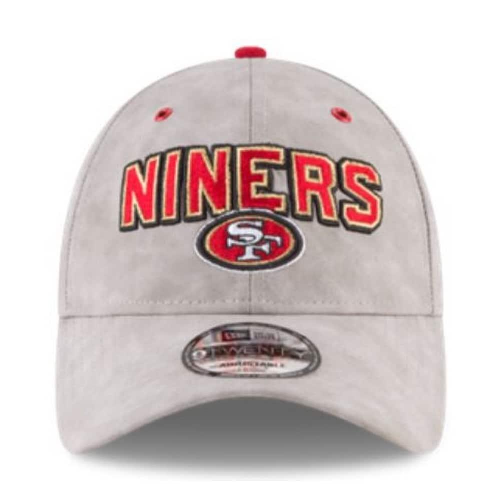 00ad5b382785e ... inexpensive new era nfl san francisco 49ers baseball hat cap spotlight  9twenty faux suede 4d003 e3a6c