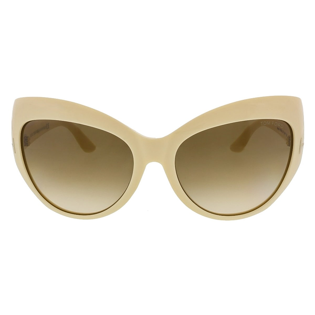 a4e7212fea Shop Tom Ford FT284 S 25F Bardot Ivory Full Rim Cateye Sunglasses -  59-17-130 - Free Shipping Today - Overstock - 13241585
