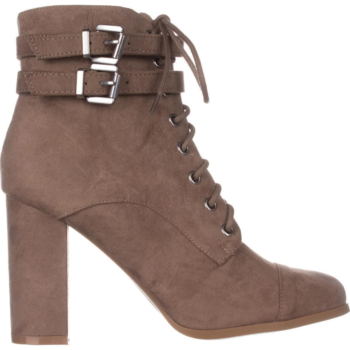 f80794d72e1 madden girl Klaim Lace Up Combat Ankle Boots, Taupe