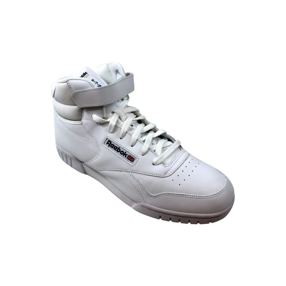 38d1adb6f5f Shop Reebok Ex-O-Fit Hi White 3477 Men s - Free Shipping Today - Overstock  - 27640784