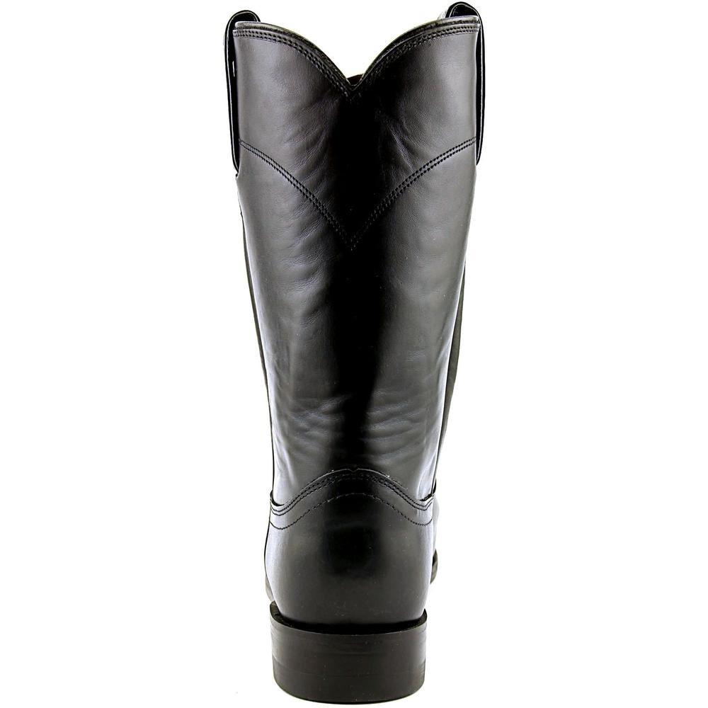 dd5baab3745 Justin L3703 Women A Round Toe Leather Western Boot
