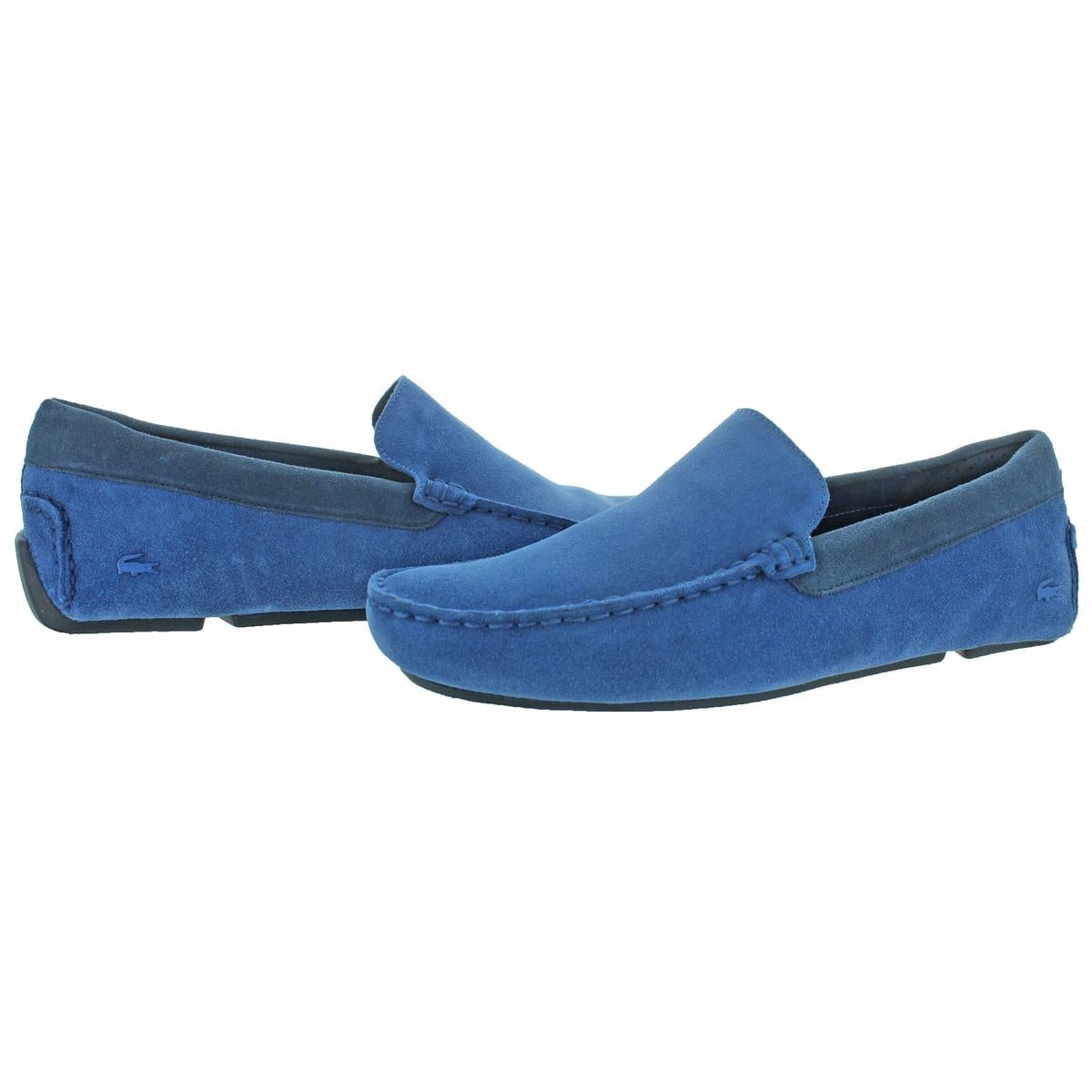 af7796de292f Shop Lacoste Mens Piloter Driving Moccasins Suede Loafer - Free Shipping  Today - Overstock - 24020191