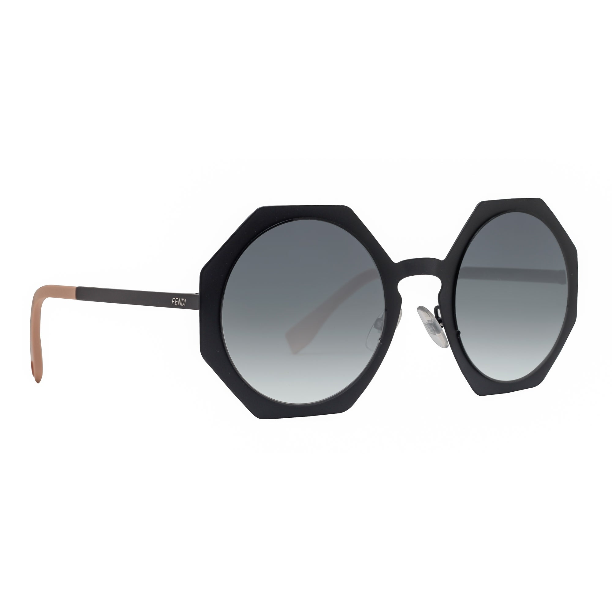 ab29b912af Shop Fendi FF 0152 S 003 JJ Facets Matte Black Grey Gradient Geometric  Sunglasses - MATTE BLACK - 51mm-24mm-145mm - Free Shipping Today -  Overstock - ...