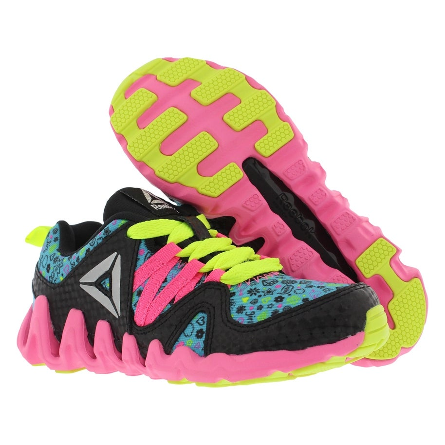 470474f054c Shop Reebok Zig Big N  Fast Fire Naa Running Kid s Shoes - Free Shipping On  Orders Over  45 - Overstock - 22163624