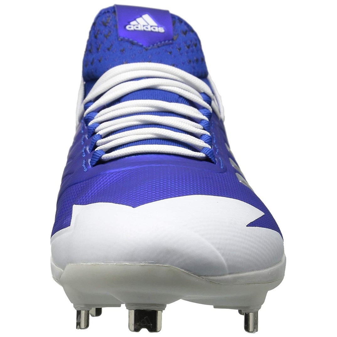 8d87be48853 Shop Adidas Mens adizero afterburner 4 Low Top Lace Up Baseball Shoes -  Free Shipping On Orders Over  45 - Overstock - 22818523