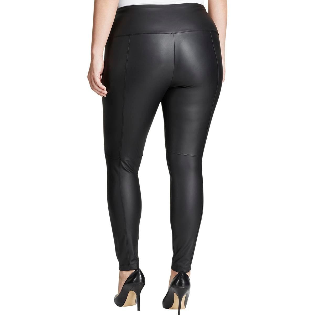 95edc353628dd8 Shop Lysse Womens Plus Leggings Vegan Leather High Waist - Free Shipping On  Orders Over $45 - Overstock - 14641009