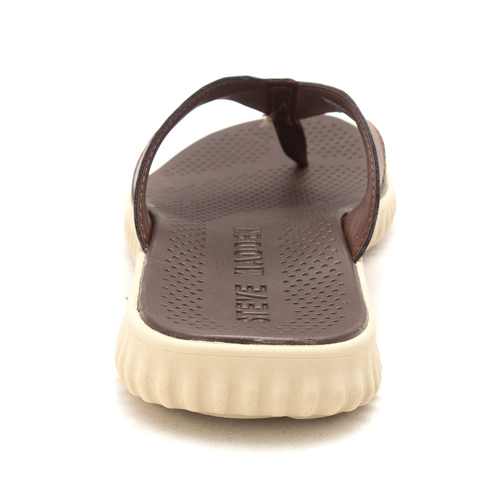 3a817a816b8a Shop Steve Madden Mens Santee Fabric Slip On Open Toe Flip Flops - Free  Shipping Today - Overstock - 22974693