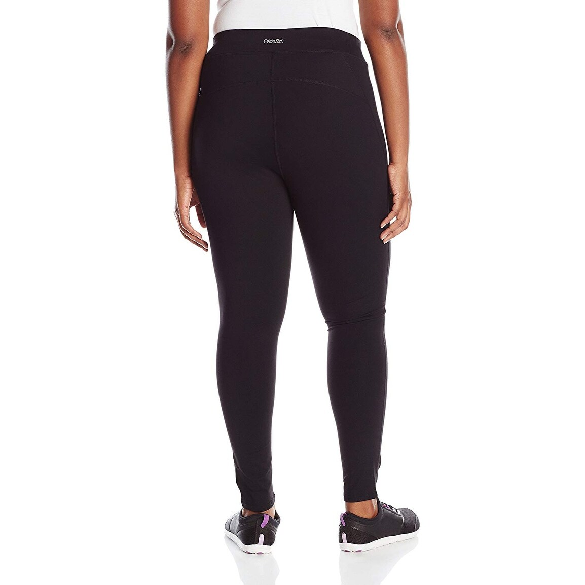5654e64e00 Shop Calvin Klein Performance Women's Size Plus High Waist Ankle Legging  Black Size Extra Large - X-Large - On Sale - Free Shipping Today -  Overstock - ...