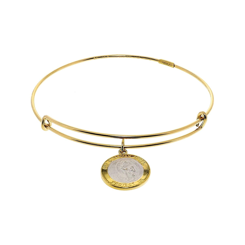 da7805c4e0f Shop Alex And Ani Women's Saint Christopher Bangle Bracelet - 6