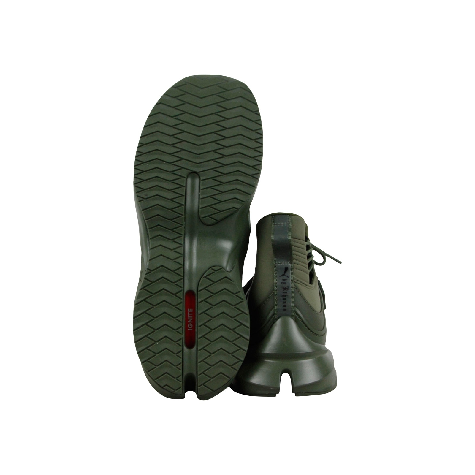 Shop Puma Womens Fenty by Rihanna Riri Green Trainer Hi 19039802 Athletic  Shoes - Free Shipping Today - Overstock - 25782148 1b2cf9a7a