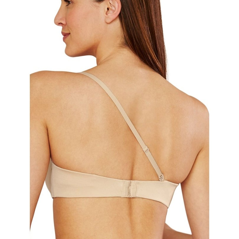cfba5b27a7f Shop Maidenform Women s Comfort Devotion Strapless Demi Multiway Bra - Free  Shipping On Orders Over  45 - Overstock - 23445641