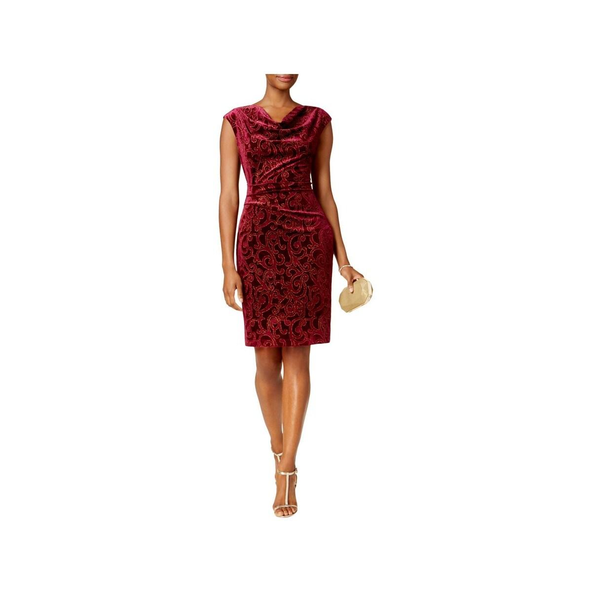 Shop Jessica Howard Womens Special Occasion Dress Velvet Metallic