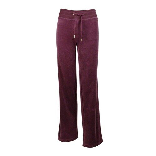 df9b54ad805 Shop Calvin Klein Women s Plus Size Velour Pants - Free Shipping On Orders  Over  45 - - 20308210