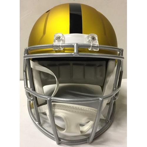 48b929e38 Shop Mean Joe Greene Signed Pittsburgh Steelers FS Blaze Speed Replica  Helmet HOF JSA - Free Shipping Today - Overstock - 18910773