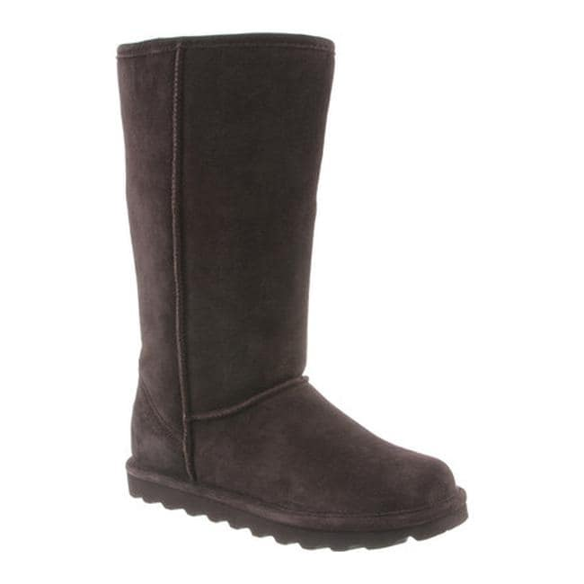 7f926f725c4b Shop Bearpaw Women s Elle Tall Boot Chocolate II Suede - On Sale - Free  Shipping Today - Overstock - 22973512