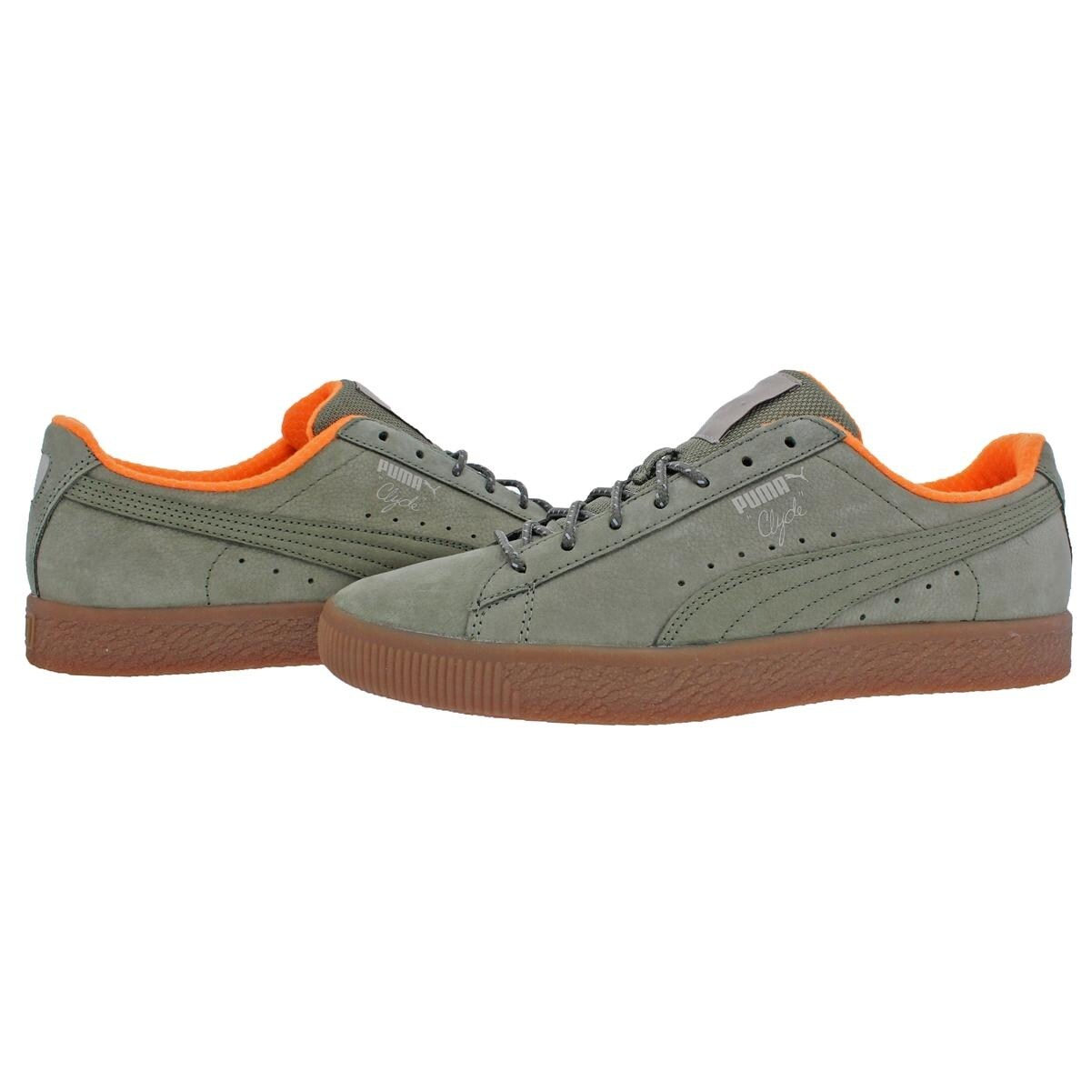 Puma Mens Clyde Winter Fashion Sneakers Fashion Low Top - 11 medium (d) -  Free Shipping Today - Overstock - 28006242 25e89b5d5