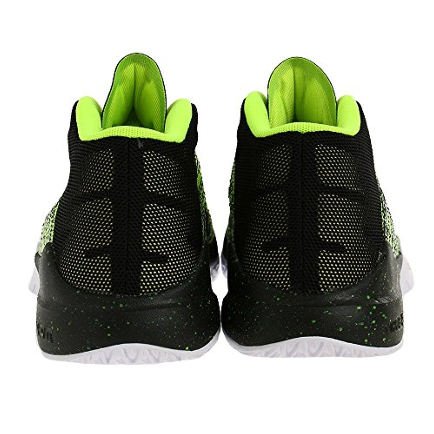 21498a845e0d46 Shop Boy s Nike Zoom Ascention (GS) Basketball Shoe Volt Black White - Free  Shipping Today - Overstock - 18280503