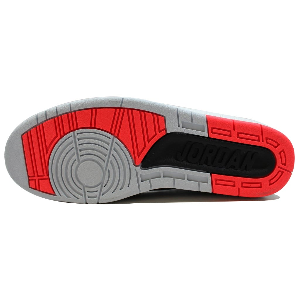 22a9b3657d5a Shop Nike Men s Air Jordan II 2 Retro Black Infrared 23-Pure Platinum-White Infrared  385475-023 Size 8 - Free Shipping Today - Overstock - 20131393
