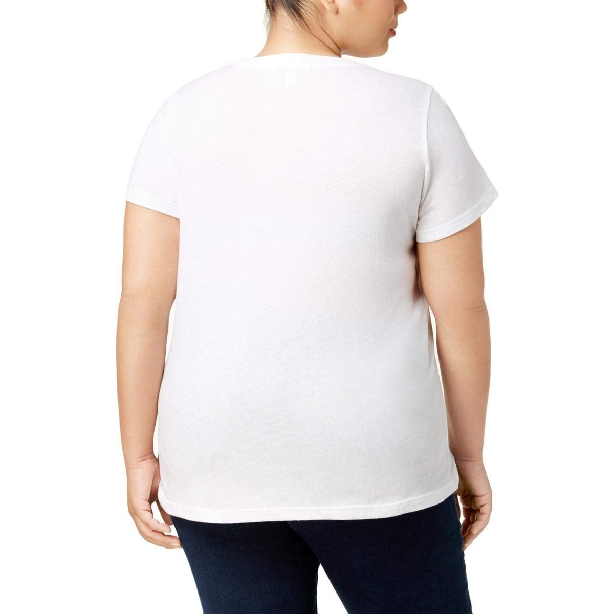 92135b4efe5 Shop Suburban Riot White Women s Size 2X Plus Baby Its Cold Graphic Top -  On Sale - Free Shipping On Orders Over  45 - Overstock - 27280917