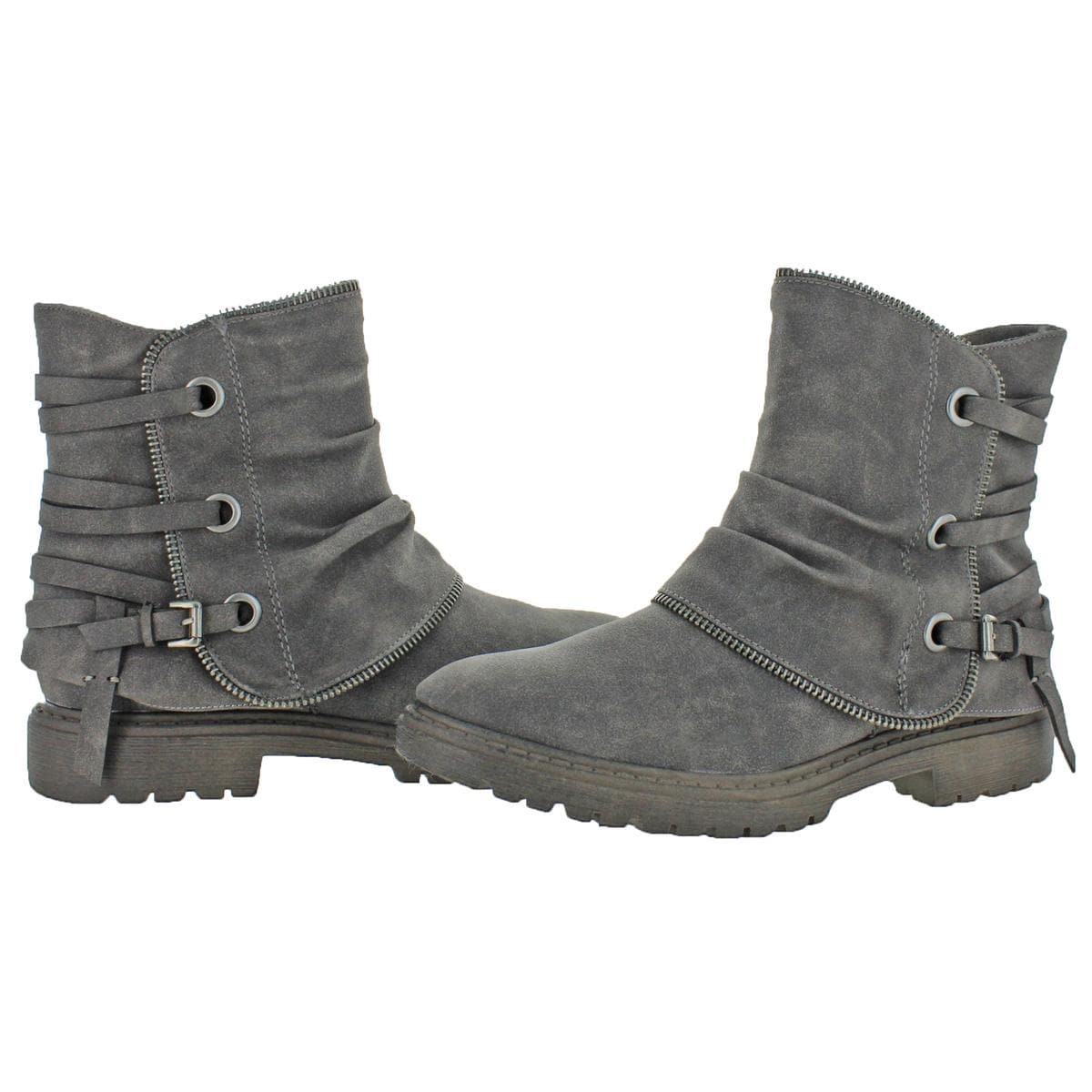 f4a644495167 Shop Very G Womens Bruiser Booties Distressed Ankle - Free Shipping Today -  Overstock - 24254501
