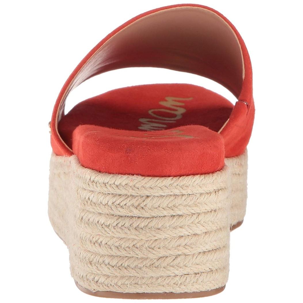 371dc5495 Shop Sam Edelman Women s Weslee Slide Sandal - Free Shipping On Orders Over   45 - Overstock - 25410403