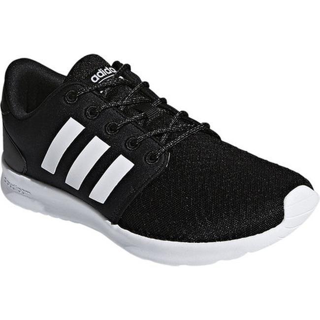 best website 53d50 5a318 adidas Womens Cloudfoam QT Racer Sneaker Core BlackFTWR WhiteCarbon S18