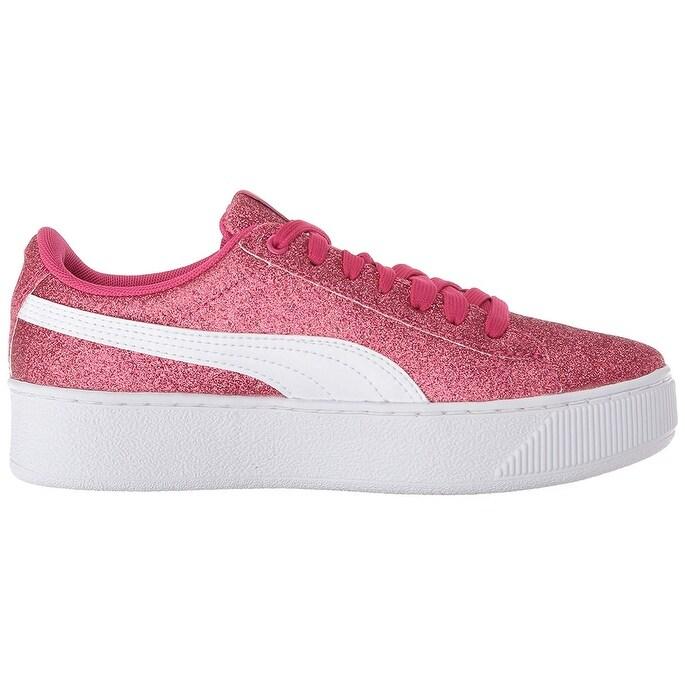 086c58fabf910f Shop PUMA Kids Vikky Platform Glitz Jr Sneaker - On Sale - Ships To Canada  - Overstock.ca - 26262916