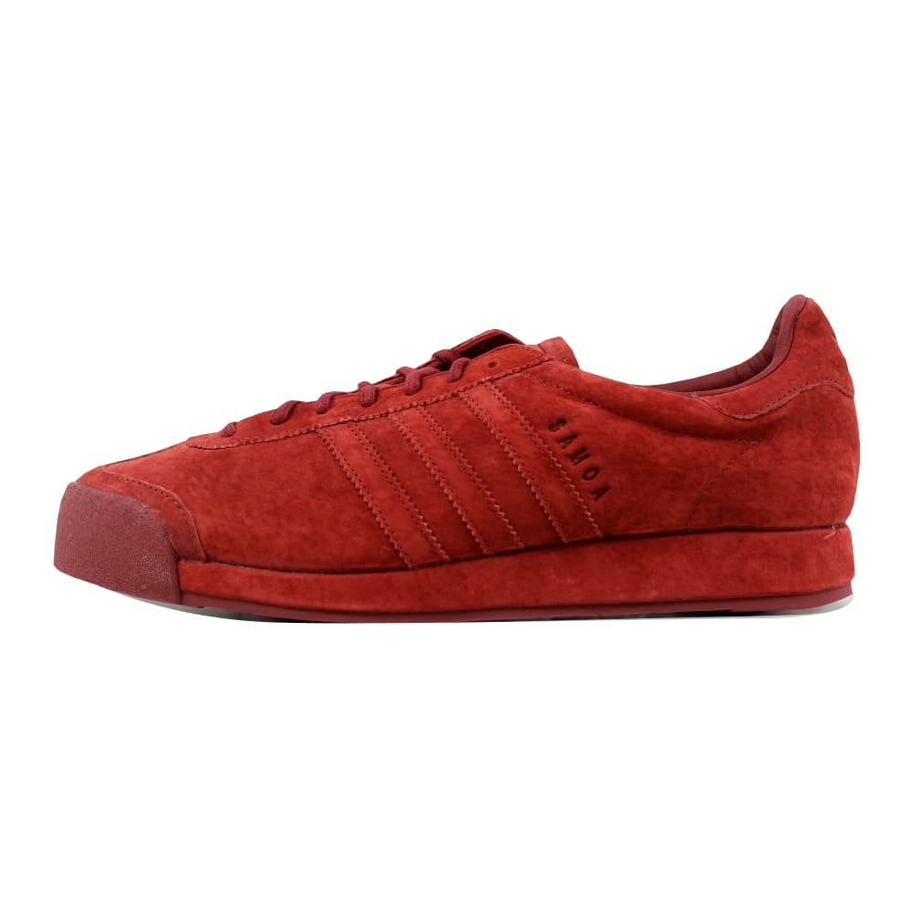 promo code ba99d 5bd0b Shop Adidas Samoa Vintage Mystery Red Pigskin Suede B39016 Mens - Free  Shipping Today - Overstock - 21141305