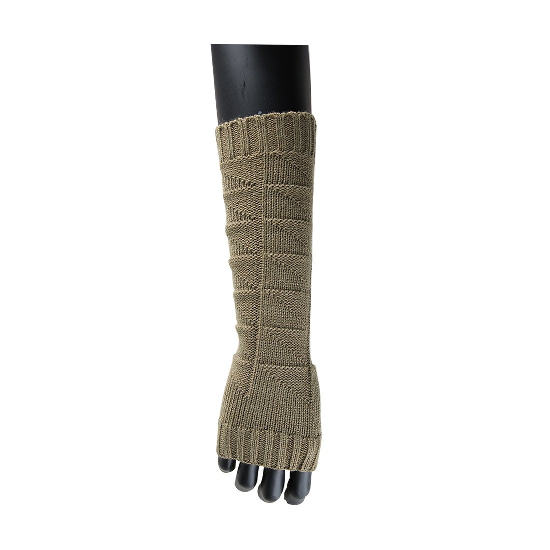 bd33aebd283 Shop Unisex Winter Lace Warmers Ribbing Knitted Thumb Hole Gloves Light  Gray - On Sale - Free Shipping On Orders Over  45 - Overstock - 25714530