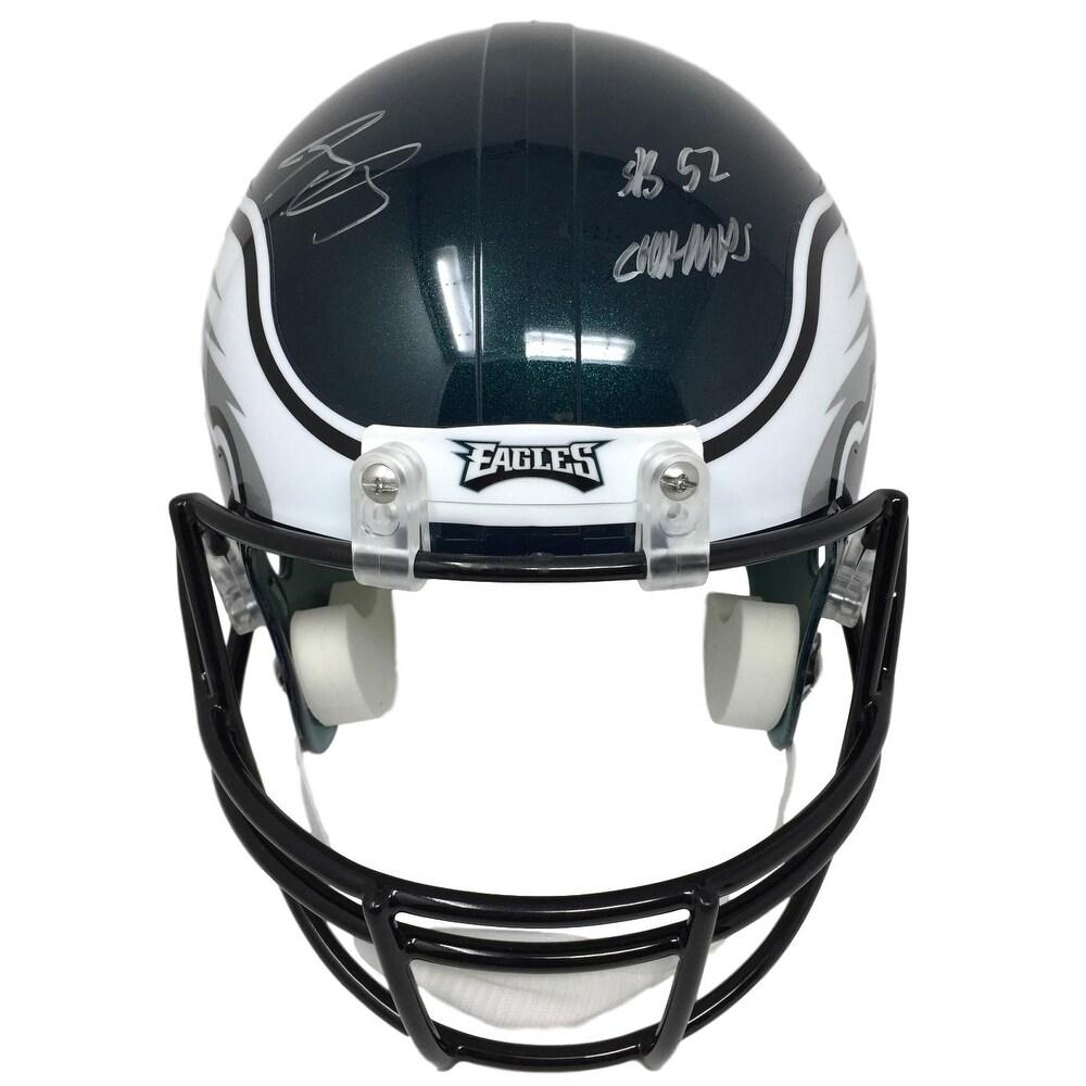8ae7984d8 Shop Jay Ajayi Signed Philadelphia Eagles Super Bowl 52 Full Size Replica Helmet  JSA - Free Shipping Today - Overstock - 20228285