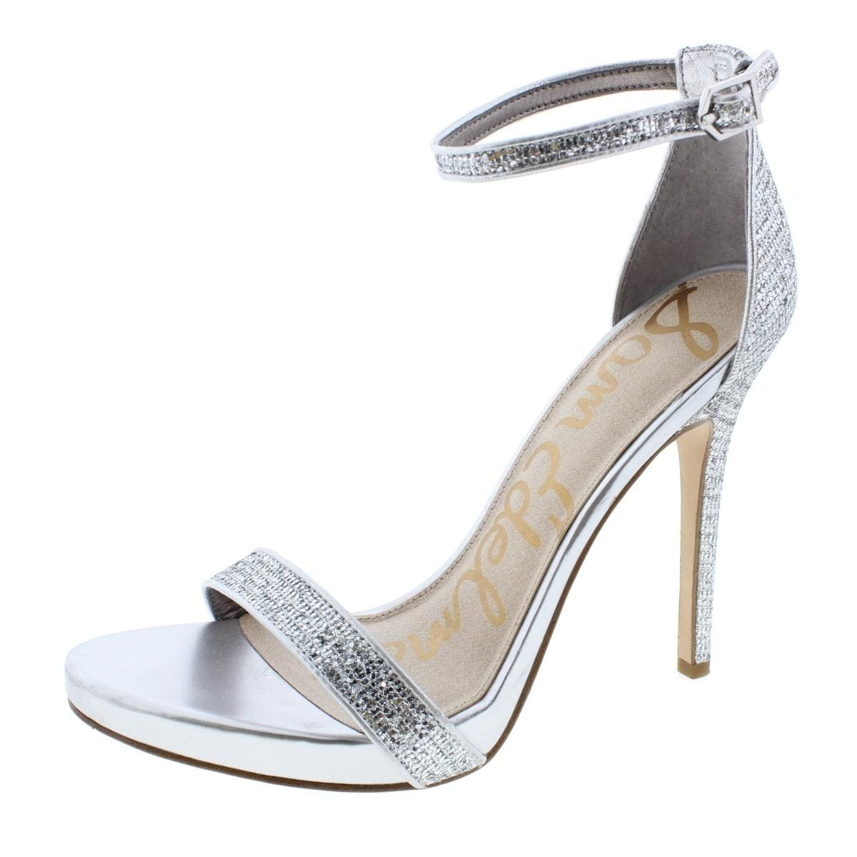 1a299b5144cf Shop Sam Edelman Womens Eleanor Evening Sandals Ankle Strap - Free Shipping  Today - Overstock - 13063875