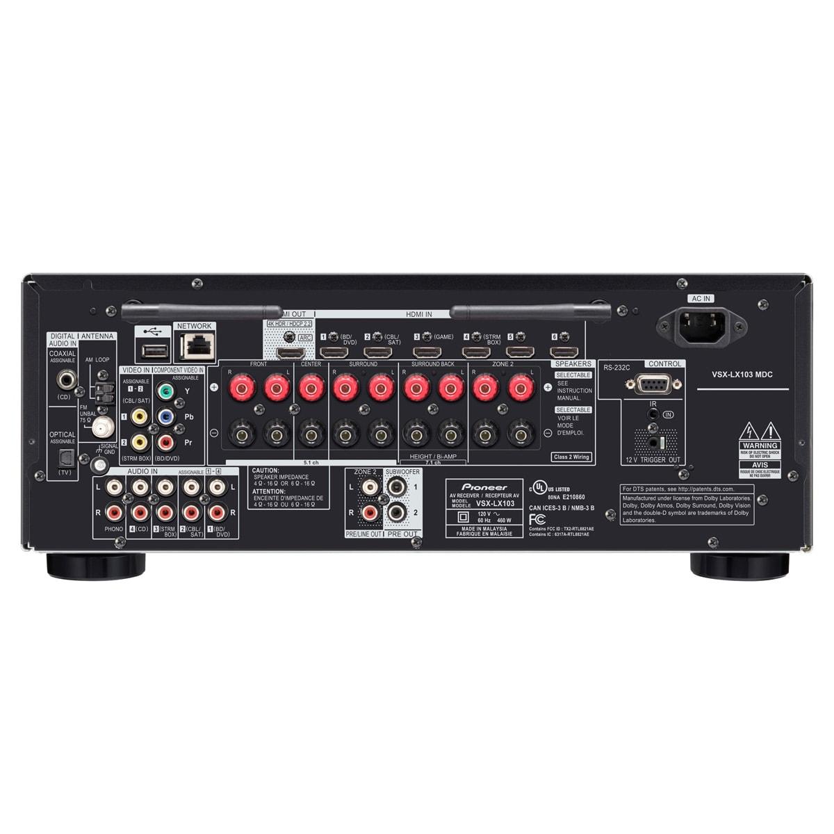 Pioneer Vsx 920 Bi Wiring - DIY Enthusiasts Wiring Diagrams •
