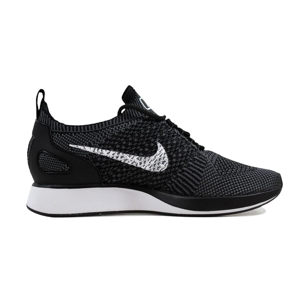 451566865a88 Shop Nike Women s Air Zoom Mariah Flyknit Racer Premium Black White-Dark  Grey 917658-002 - Free Shipping Today - Overstock - 21893665
