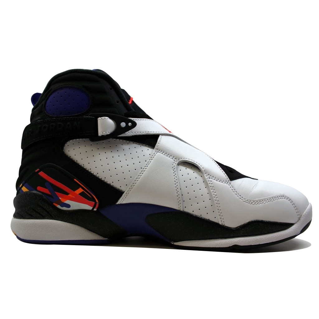 huge discount 14c64 ae3e8 Shop Nike Men s Air Jordan VIII 8 Retro White Infrared 23-Black-Bright  Concord Threepeat 3peat 305381-142 - Free Shipping Today - Overstock -  19507196