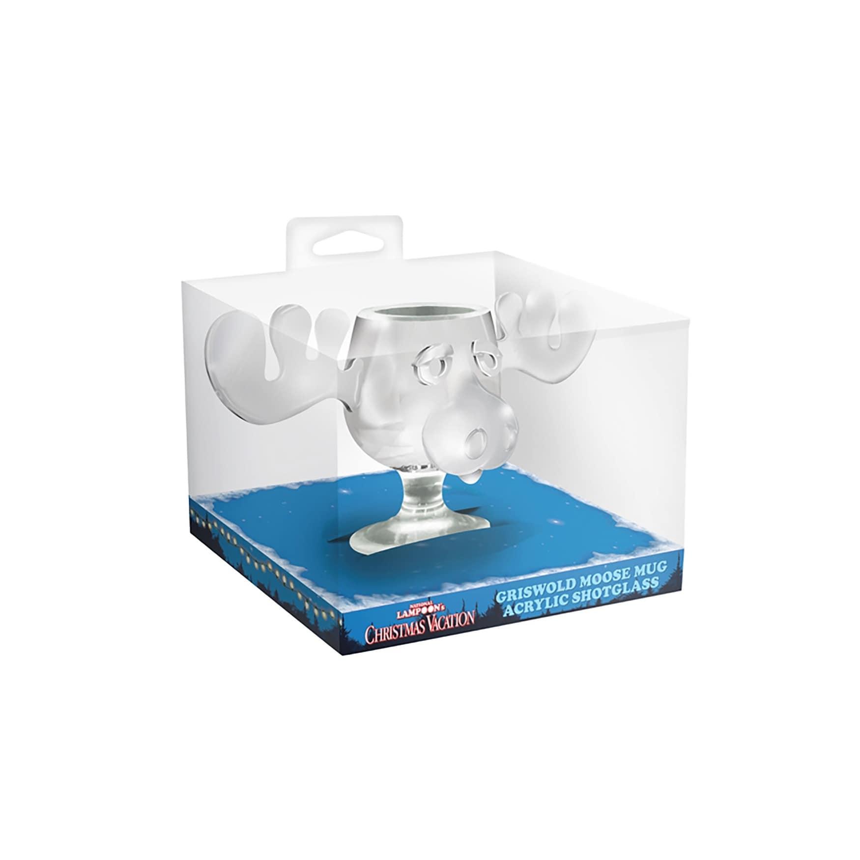 Christmas Vacation Molded Acrylic Shotglass  Free Shipping On Orders