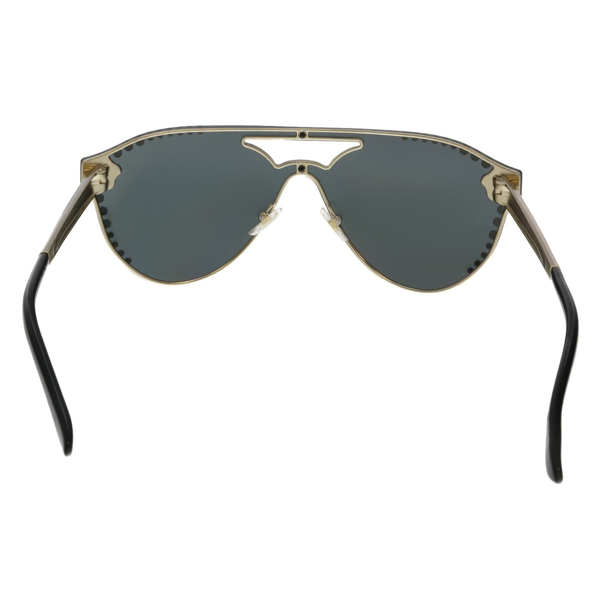 2f251edd8804 Shop Versace VE2161 125287 Pale Gold Aviator Sunglasses - No Size - Free  Shipping Today - Overstock - 25558350