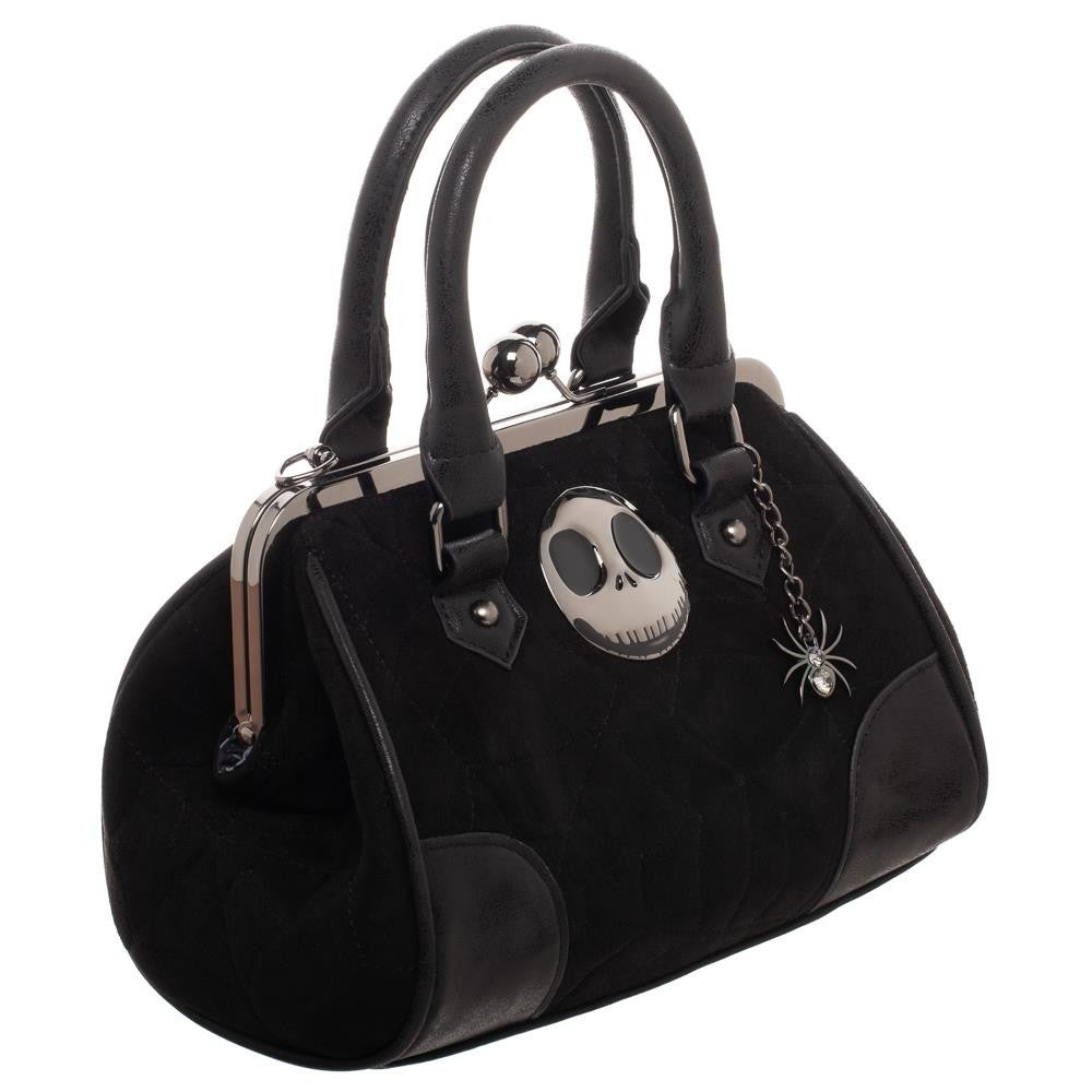 Shop Nightmare Before Christmas Kiss Lock Handbag - Free Shipping ...