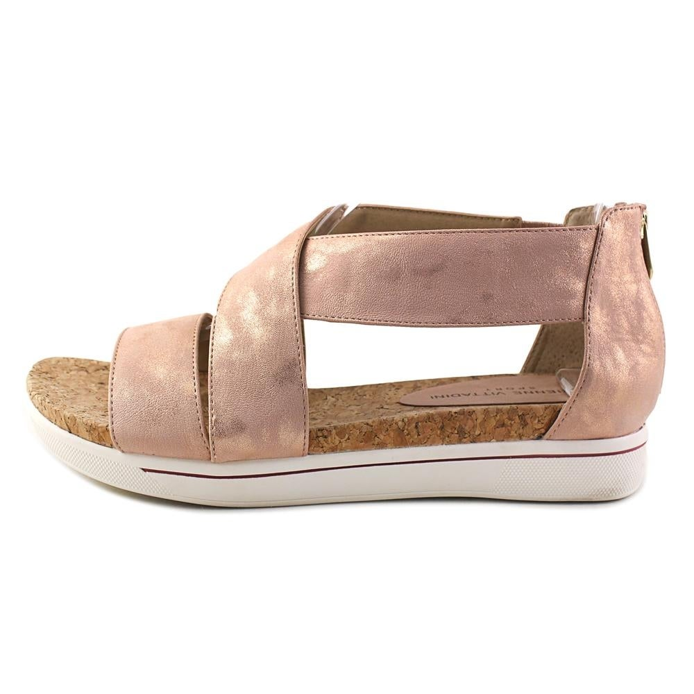 97f6cff23c Shop Adrienne Vittadini Claud Women Open Toe Synthetic Pink Platform Sandal  - Free Shipping Today - Overstock - 19740407
