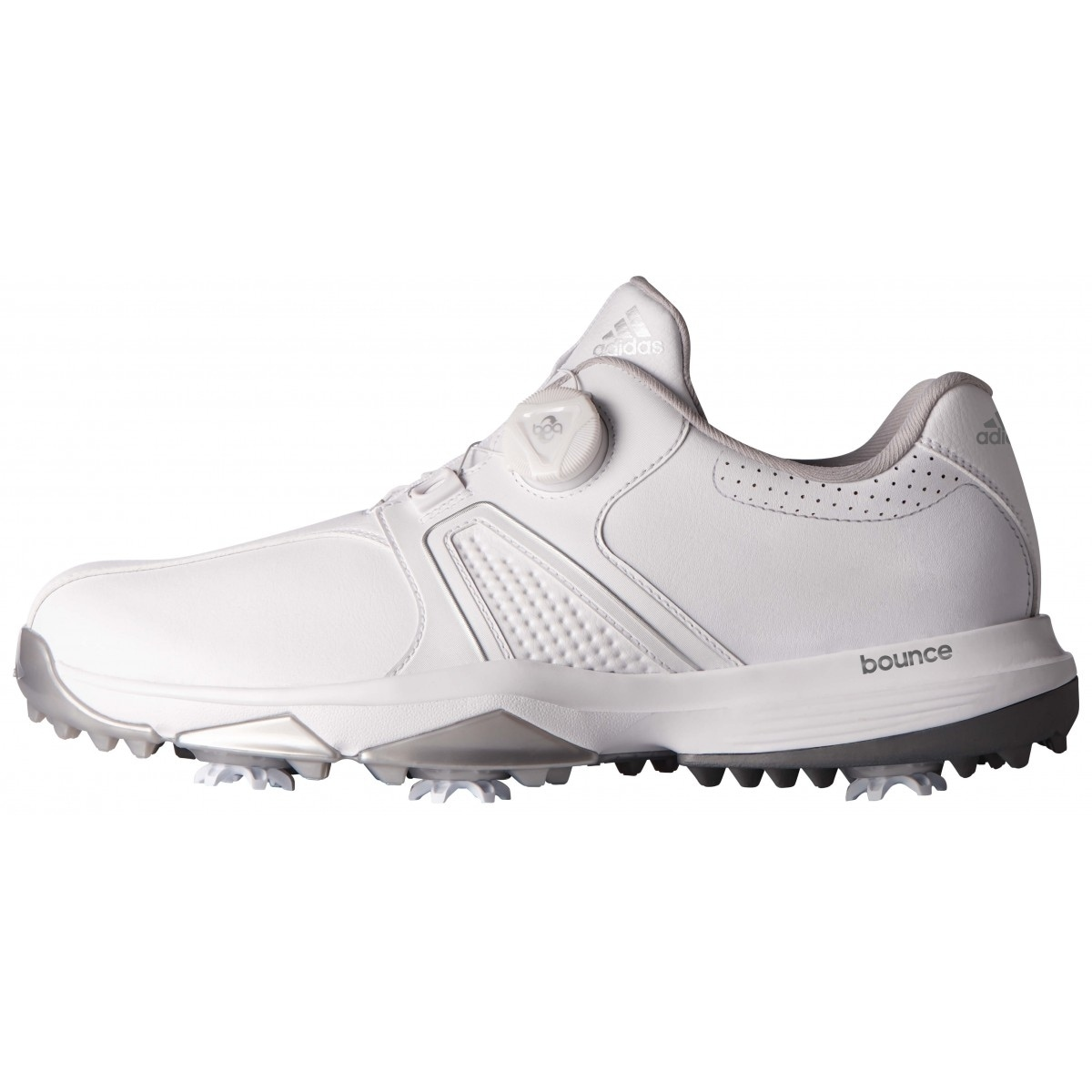 3fbea423469e Shop Adidas Men s 360 Traxion BOA White Golf Shoes Q44949 Q44953 - Free  Shipping Today - Overstock - 20603537