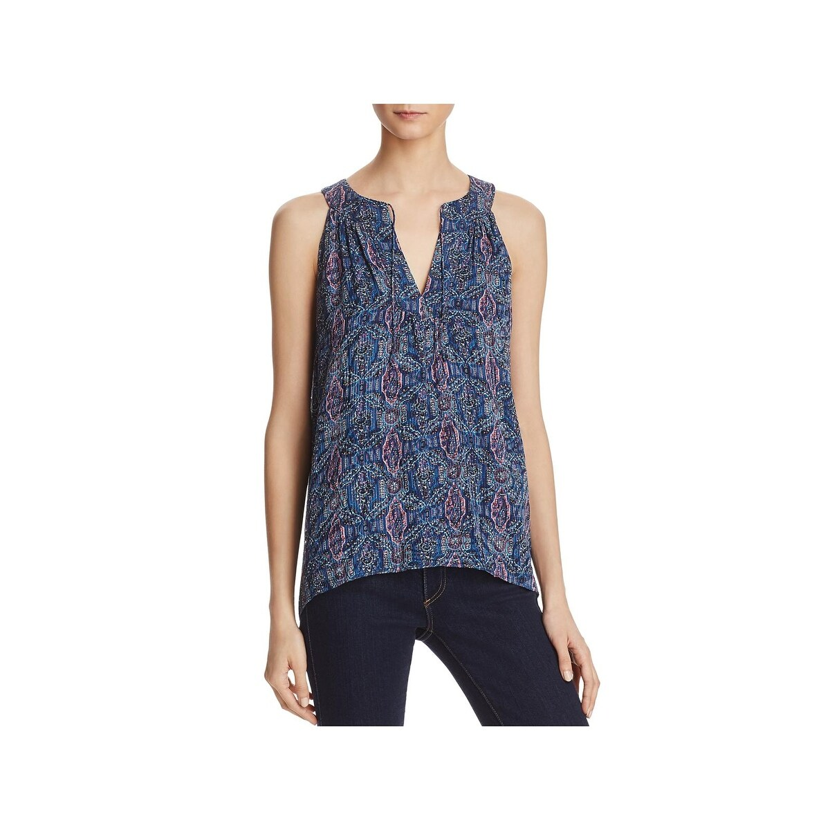d0220eb7f8f955 Shop Joie Womens Elin Pullover Top Silk Sleeveless - XS - Free ...