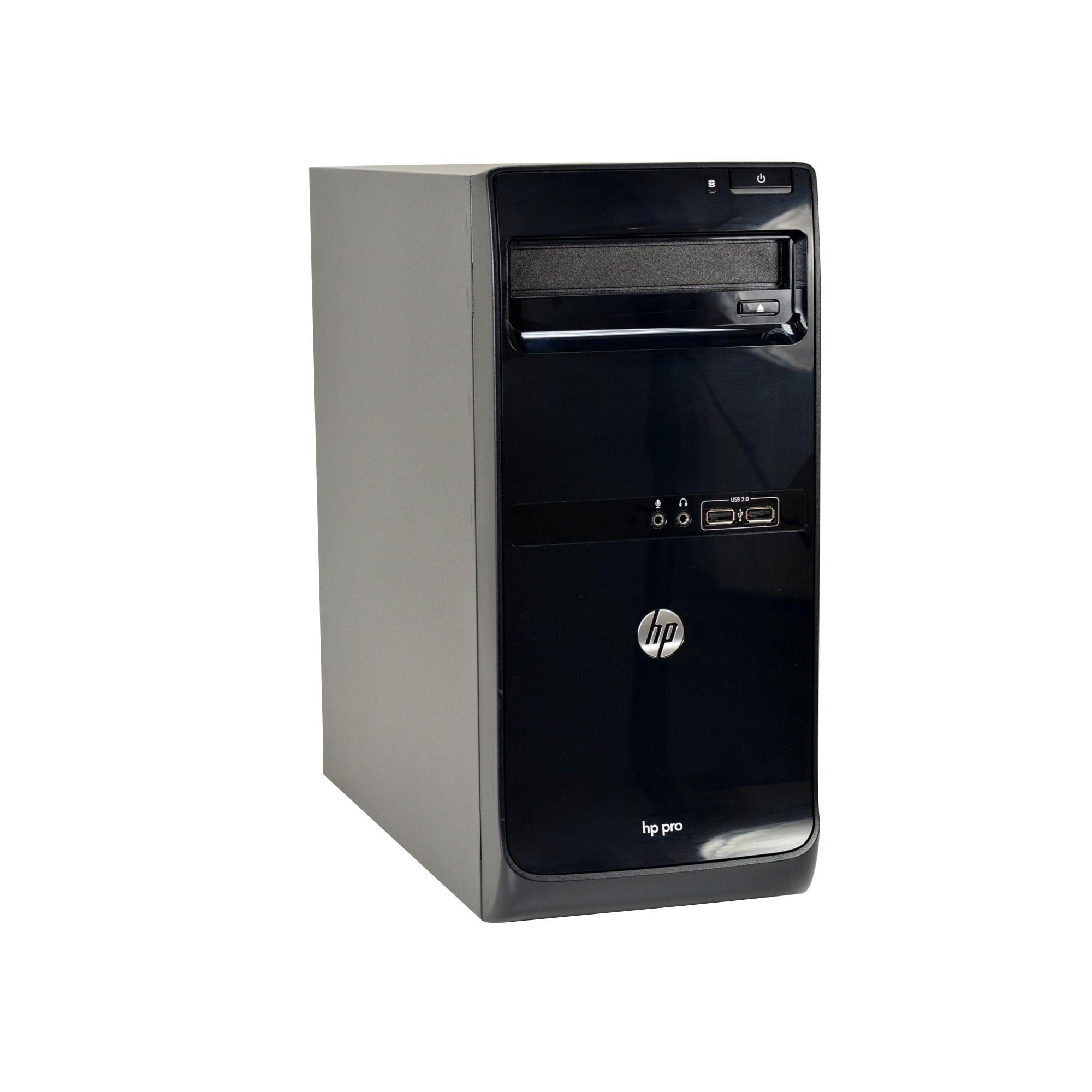 HP Pro 3500-T Core i5-3570 3 4GHz CPU 8GB RAM 500GB HDD DVD-RW Windows 10  Pro PC (Refurbished)