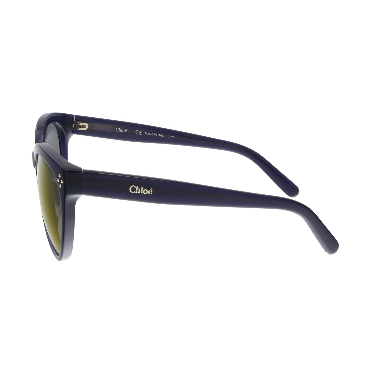 0aaa3739c34d Shop Chloe CE691S 424 Blue Cat Eye Sunglasses - 54-21-135 - Free Shipping  Today - Overstock - 22355687