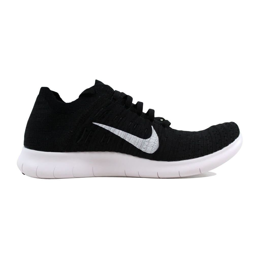 new arrival 3fd27 5be27 Shop Nike Mens Free Run Flyknit BlackWhite 831069-001 - On Sale - Free  Shipping Today - Overstock - 22340251