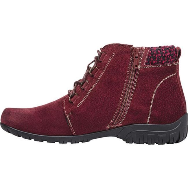 dd0a9551a0 Shop Propet Women's Delaney Boot Dark Red Suede - Free Shipping Today -  Overstock - 16908978