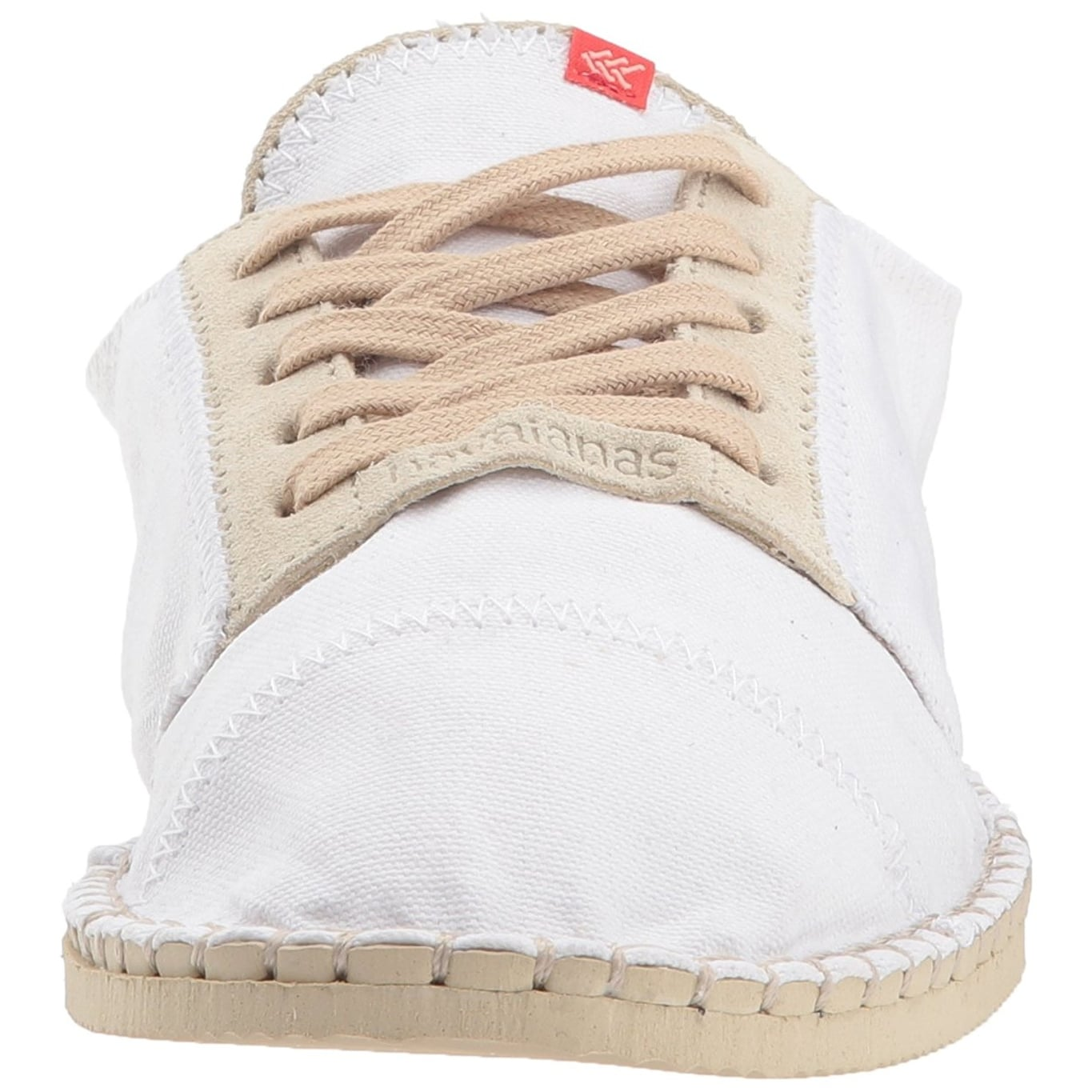 0d110d96e8b4 Shop Havaianas Womens Origine Sneaker III Espadrille Canvas Low Top Lace Up  Fashio... - Free Shipping On Orders Over  45 - Overstock - 21679377
