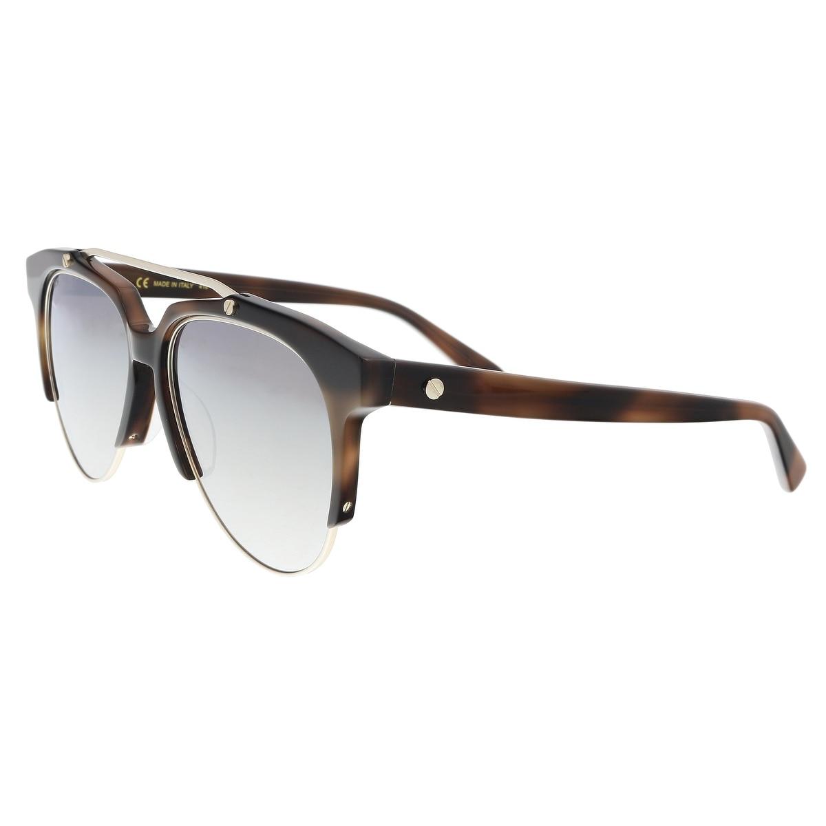 a0fdf22e08017 Shop MCM MCM112S 214 Havana Aviator Sunglasses - 57-16-145 - Free ...